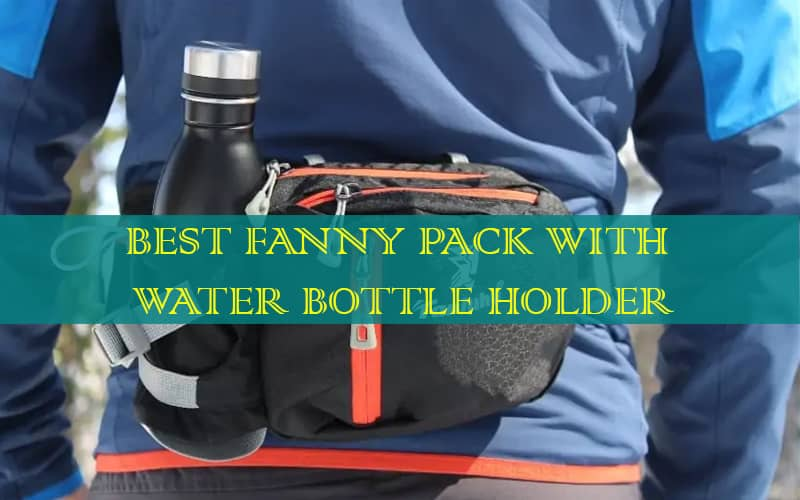 fanny pack with 2 water bottle holder