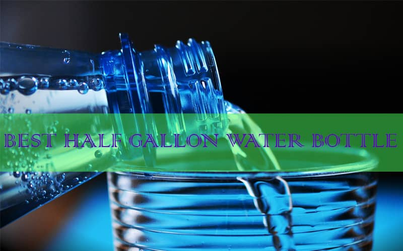 half gallon water bottle with straw