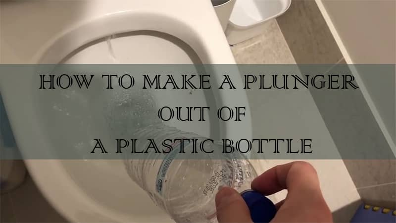 how to make a homemade plunger for toilet