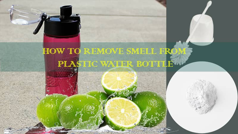 how to get rid of bad smell in water bottle